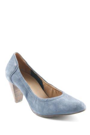 Högl High Heels graublau Casual-Look