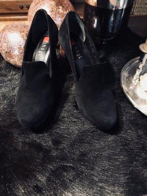 Högl High-Front Pumps black leather