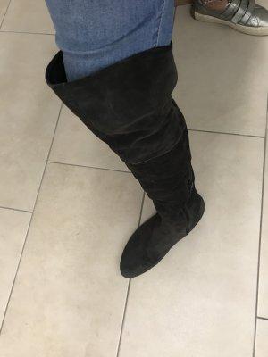 Högl overknee Stiefel Größe 6, dunkelgrau