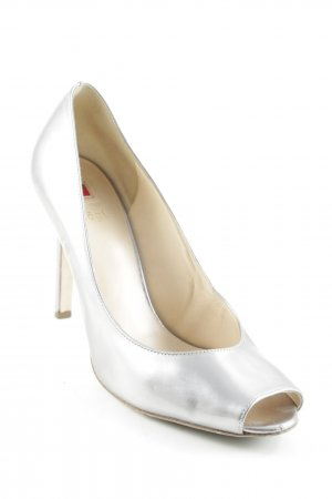 Högl Platform Pumps silver-colored party style