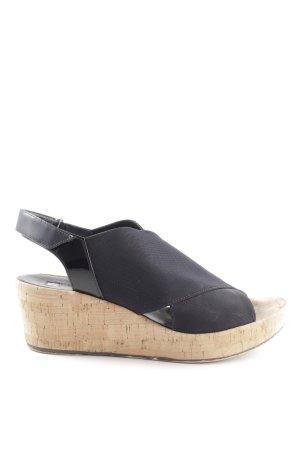Högl Platform High-Heeled Sandal black-nude casual look