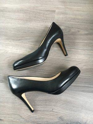 Högl Pumps schwarz echt Leder