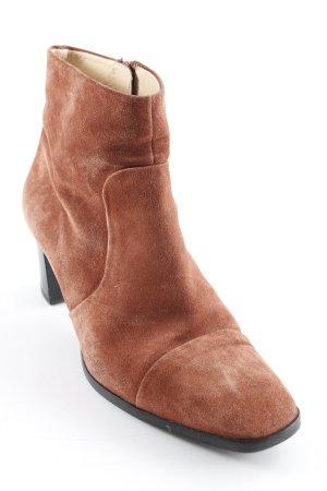 Högl Reißverschluss-Stiefeletten rostrot schlichter Stil