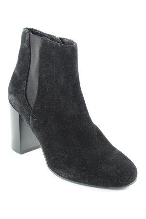 Högl Reißverschluss-Stiefeletten schwarz Casual-Look