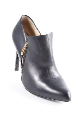 Högl Reißverschluss-Stiefeletten schwarz schlichter Stil