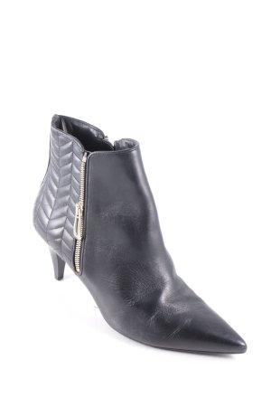 Högl Reißverschluss-Stiefeletten schwarz Street-Fashion-Look