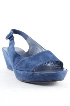 Högl Sandalias de tiras azul oscuro look casual