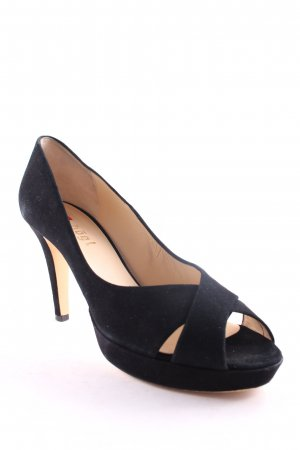Högl Strapped High-Heeled Sandals black business style