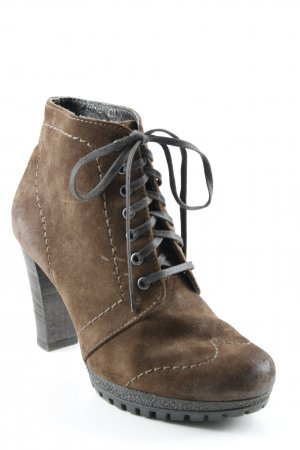 Högl Lace-up Booties brown casual look