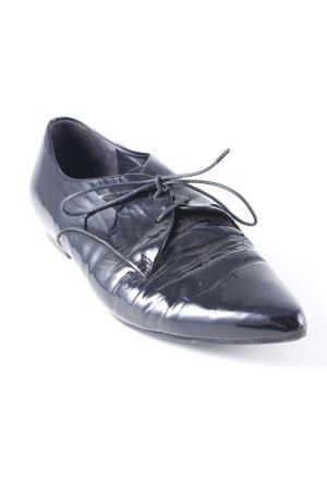 Högl Schnürschuhe schwarz minimalistischer Stil