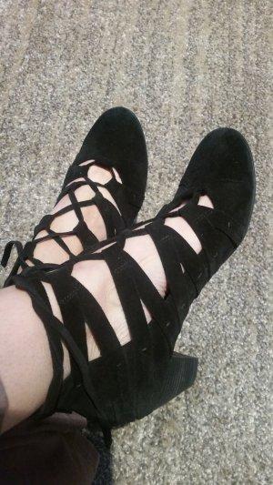 Högl Strapped High-Heeled Sandals black