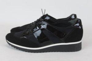 Högl Schuhe Halbschuhe Schnürer Gr. 3,5 / 37 schwarz Turnschuhe Sneaker