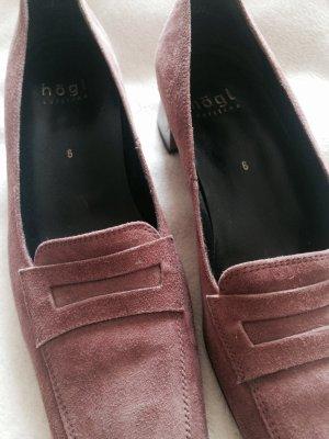 Högl Schuhe verlourleder Größe 40