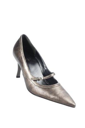 Högl Spitz-Pumps bronzefarben Eleganz-Look