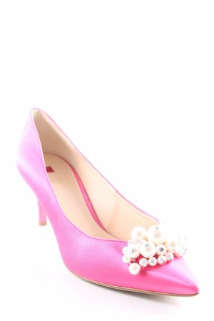 Högl Spitz-Pumps pink Party-Look