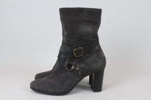 HÖGL Stiefelette Ankle Boots Gr. 5,5 (38,5) Wildleder grau NEU (18/3/321/E/SC)