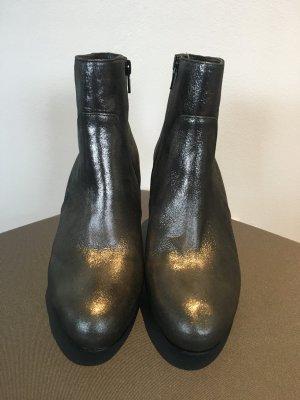 Högl Stiefelette Glitzer Bronze grau silberfarben