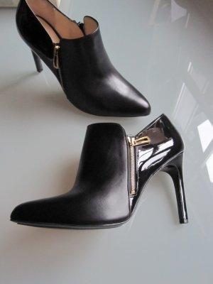 Högl Stiefeletten Boots schwarz Lack
