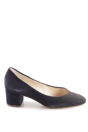 Högl Loafers blauw-zwart kleurverloop elegant