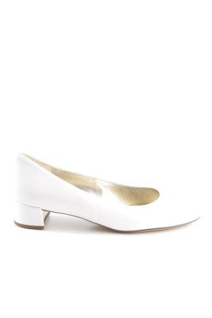 Högl Loafers wit zakelijke stijl