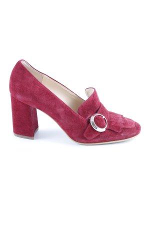 Högl Zapatos Informales carmín look Street-Style