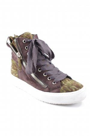 Högl Wedge Sneaker abstraktes Muster Casual-Look