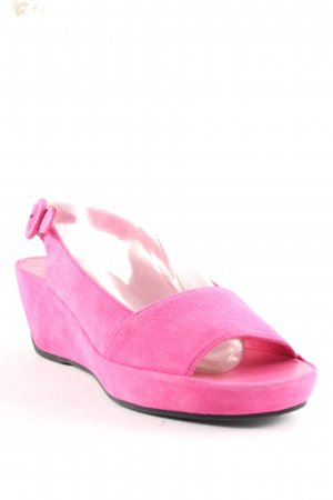 Högl Wedge Sandals pink leather