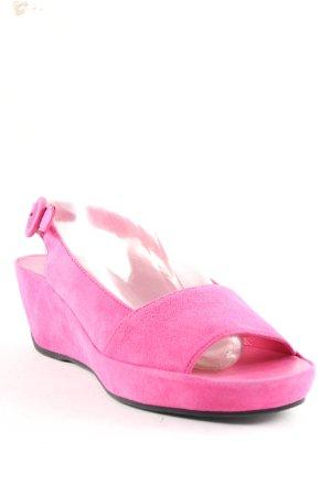 Högl Wedges Sandaletten pink extravaganter Stil
