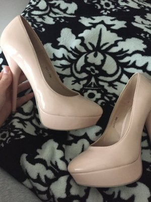 Höhe Schuhe in Pink Große 40 von ideal