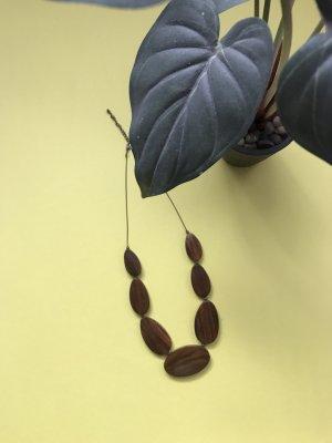 Cadena de oro marrón-coñac