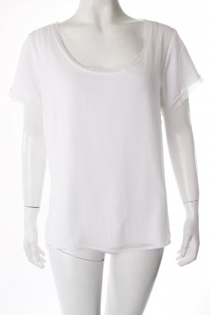 Hofmann Copenhagen T-Shirt mit fransigem Kragen