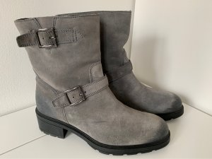 Hogan Winter Booties grey leather