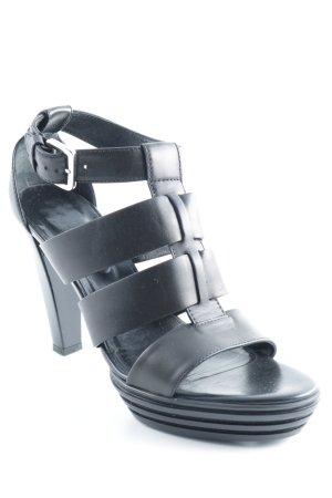 Hogan High Heels schwarz Elegant