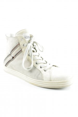 Hogan High Top Sneaker creme-beige Casual-Look