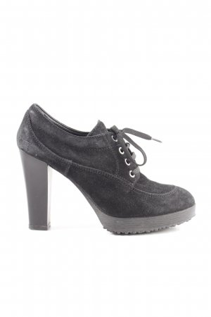 Hogan Hochfront-Pumps hellgrau Casual-Look