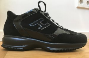 HOGAN Leder-Sneaker in schwarz, wie neu