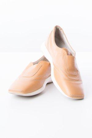 HOGAN - Loafer mit Steppnähten Cognacbraun