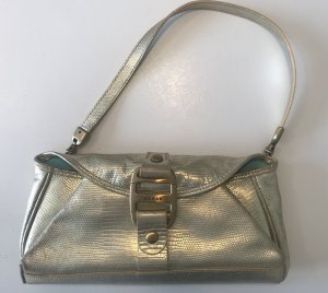 Hogan Mini Bag gold-colored leather