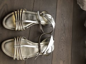 Hogan Sandalo con cinturino oro-marrone-grigio