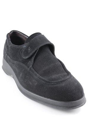 Hogan Schlüpfschuhe schwarz schlichter Stil