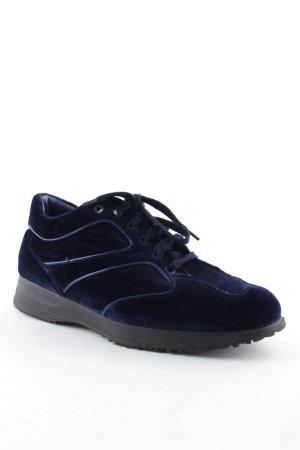 Hogan Schnürsneaker blau minimalistischer Stil