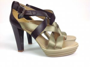 Hogan Schuhe braun/gold Gr. 37