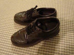 Hogan Schuhe Schnürer Lackleder 36