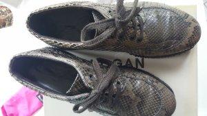 HOGAN Snakeprint bequeme Leder - Sneakers