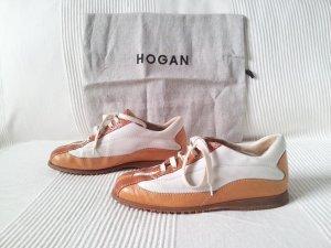 HOGAN Sneaker braun weiss