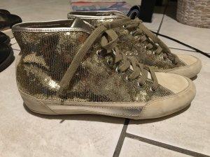 Hogan Sneaker Gold mit Pailletten
