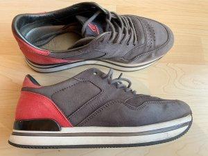 Hogan Sneaker Schuhe grau pink 38