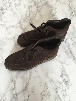 Hogan Sneaker Wildleder dunkelbraun knöchelhoch Gr. 38,5