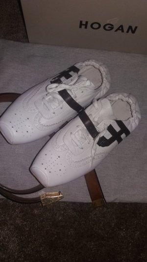 Hogan sneakers leder