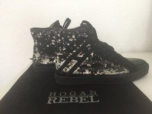 Hogan sneakers schwarz/Silber